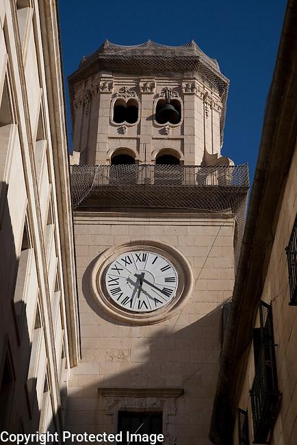 City Hall in Plaza del Ayuntamiento Square in Alicante, Spain