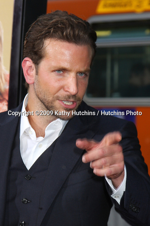 "Bradley Cooper arriving at  the ""All About Steve"" Premiere at Grauman's Chinese Theater  in  Los Angeles, CA on August 26, 2009.©2009 Kathy Hutchins / Hutchins Photo."