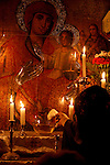 Israel, Jerusalem Old City. The Coptic Chapel at the Church of the Holy Sepulchre, 2006<br />