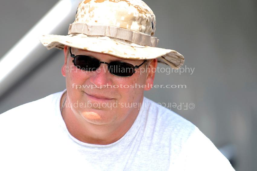 Crewman on Bob Zabady's  Can Am 555.