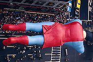 New York, U.S.A, 24th, November, 1988. Superman seen at the famous Macy's Thanksgiving Parade.