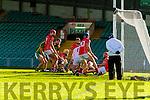 Sean Maunsell of Kilmoyley scores a goal against Monaleen at the Gaelic Grounds, Limerick<br /> <br /> Photo: Oisin McHugh True Media