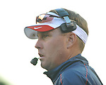 Ole Miss Coach Hugh Freeze vs. Georgia at Sanford Stadium in Athens, Ga. on Saturday, November 3, 2012.