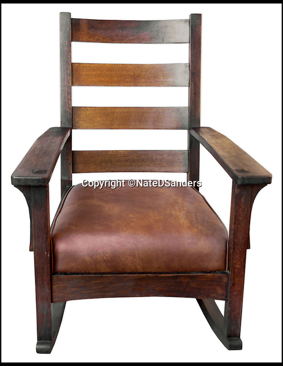 BNPS.co.uk (01202 558833)<br /> Pic: NateDSanders/BNPS<br /> <br /> A wooden rocking chair from the White House that was made specially for John F. Kennedy has emerged for sale for &pound;65,000.<br /> <br /> The solid oak chair was commissioned by the tragic politician when he was still a senator - and once elected in 1961 he took it with him to Washington.<br /> <br /> Following Kennedy's assassination two years later he was succeeded by Lyndon B. Johnson who continued to use the chair.<br /> <br /> Prior to his departure from the White House in 1969, President Johnson gifted the chair to George Szabo, a long-standing White House photographer, in thanks for his dedicated service and it has been in his possession ever since.