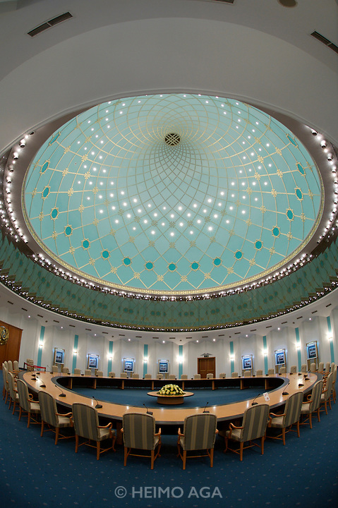 President's Museum (former Presidential Palace). Meeting room under the roofdome.