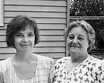 Diane Domonell (left) and Virginia Nowakowski, Torrington.