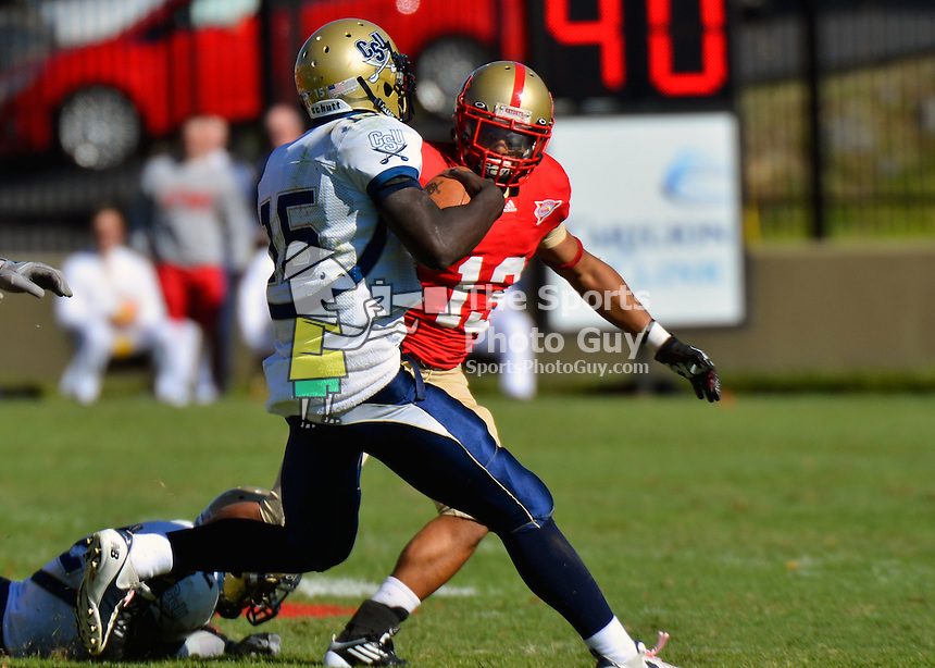 VMI football fends off Bucs, 21-17