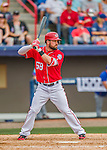 3 March 2016: Washington Nationals infielder Jason Martinson in action during a Spring Training pre-season game against the New York Mets at Space Coast Stadium in Viera, Florida. The Nationals defeated the Mets 9-4 in Grapefruit League play. Mandatory Credit: Ed Wolfstein Photo *** RAW (NEF) Image File Available ***