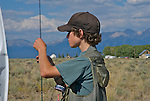IDAHO.  Mackey. Teen ready to flyfish.