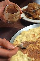 Europe, France, Provence-Alpes-C&ocirc;te d'Azur, Alpes-Maritimes, (06) , env de Nice: Pissalat, sauce &agrave; base de poissons, condiment  utilis&eacute; dans la cuisine ni&ccedil;oise<br /> // Europe, France, Provence-Alpes-C&ocirc;te d'Azur, Alpes-Maritimes, around  Nice: Pissalat, Fish sauce, Condiment, used by Nice's cuisine,