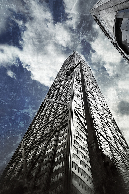 John Hancock Center, one of the tallest building in Chicago, Illinois