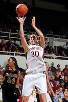 21 November 2006: Stanford Cardinal Brooke Smith during Stanford's 75-60 win against the Missouri Tigers at Maples Pavilion in Stanford, CA.
