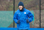 St Johnstone Training&hellip;.31.03.17<br />Murray Davidson pictured training on the astroturf at McDiarmid Park this morning ahead of tomorrow&rsquo;s game at Hamilton.<br />Picture by Graeme Hart.<br />Copyright Perthshire Picture Agency<br />Tel: 01738 623350  Mobile: 07990 594431