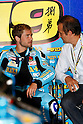 July 2, 2010 - Catalunya, Spain - Alvaro Bautista is pictured in his pit during the Catalunya Grand Prix, Spain, on July 2, 2010. (Photo Andrew Northcott/Nippon News)