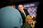Rudy Giuliani speaks at a campaign rally in Plymouth, NH, on Sunday, Dec. 30, 2007.