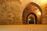 knight templer tunnel jerusalem israel