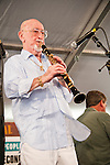 Pete Fountain performing at the New Orleans Jazz and Heritage Festival in New Orleans, Louisiana, May 1, 2011.