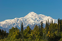Summit of Mt. Denali from the southside.