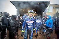 Kenny Dehaes (BEL/Wanty-Groupe Gobert) pre-race <br /> <br /> 1st Dwars door West-Vlaanderen 2017 (1.1)