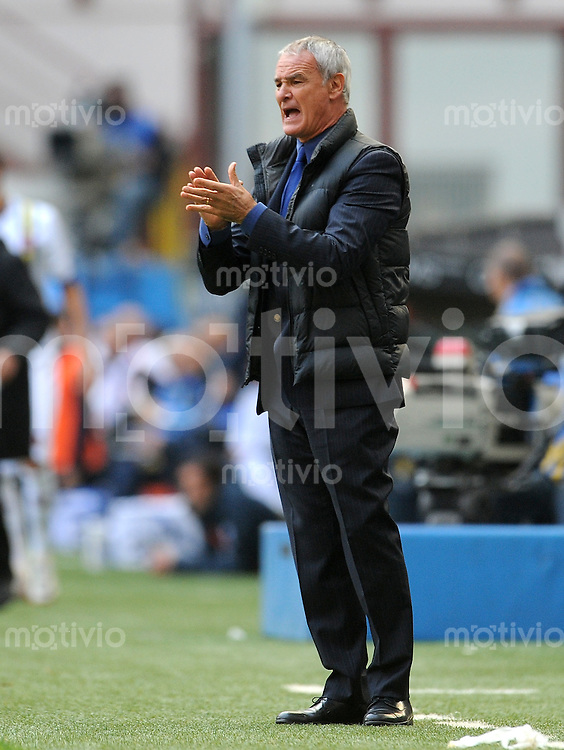 FUSSBALL INTERNATIONAL   SERIE A   SAISON 2011/2012    Inter Mailand - Chievoverona  23.10.2011 Trainer Claudio Ranieri (Inter Mailand)