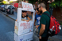 Roma 7 Settembre 2013<br /> Manifestazione contro lo sgombero dell'ex fonderia Bastianelli che ha avuto luogo il 16 agosto, nel quartiere di San Lorenzo. COMMUNIA Project  &egrave; stato creato per fermare un progetto speculativo.<br /> Rome September 7, 2013<br /> Demonstration against the eviction of the former foundry Bastianelli that took place on August 16, in the distric San Lorenzo. Communia Project  was created to stop a speculative project.