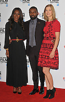 Amma Asante, David Oyelowo and Rosamund Pike at the 60th BFI London Film Festival &quot;A United Kingdom&quot; opening gala press conference and photocall, The May Fair Hotel, Stratton Street, London, England, UK, on Wednesday 05 October 2016.<br /> CAP/CAN<br /> &copy;CAN/Capital Pictures /MediaPunch ***NORTH AND SOUTH AMERICAS ONLY***