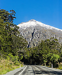 The road from Te Anau to Milford Sound. A spectacular drive.