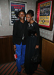 South African superstar, Simphiwe Dana and Radio Host Akena <br />  at the Red Rooster's Ginny&rsquo;s Supper Club in Harlem, NY