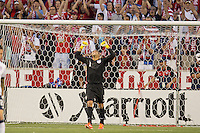 Sandy, Utah - Tuesday, June 18, 2013: USMNT vs Honduras at Rio Tinto Stadium during a WC qualifying match.