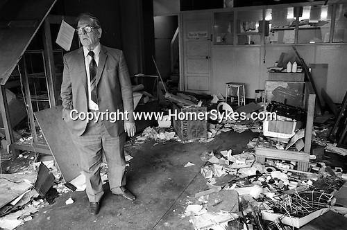 Toxteth Liverpool after riots. July 1981
