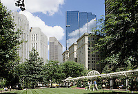 Boston, Mass..Postal Square is an island of tranquility in the middle of Boston's financial district