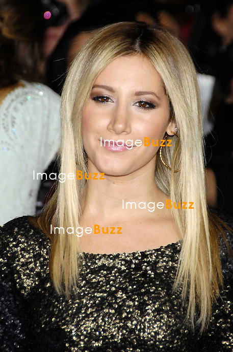 Ashley Tisdale during the premiere of the new movie from Lions Gate TWILIGHT: BREAKING DAWN 2, held at the Nokia Theatre, on November 12, 2012, in Los Angeles..