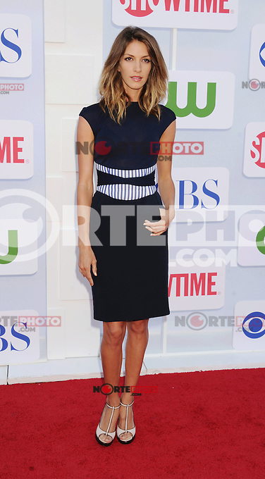 BEVERLY HILLS, CA - JULY 29: Dawn Oliveri arrives at the CBS, Showtime and The CW 2012 TCA summer tour party at 9900 Wilshire Blvd on July 29, 2012 in Beverly Hills, California. /NortePhoto.com<br />