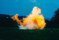 EXPLOSION OF ISOPROPYL ETHER AND ALCOHOL<br />
