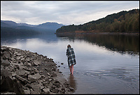 BNPS.co.uk (01202 558833)<br /> Pic: WildGuideScotland/BNPS<br /> <br /> Loch Beinn A'Mheadhion near Glen Affric in the heart of the Sottish Highlands.<br /> <br /> Scotland's stunning unspoiled scenery is being shown in a whole new light in a book that reveals the hidden gems off the beaten track north of the border.<br /> <br /> Three young photographers travelled the width and breadth of Scotland and snapped 750 picturesque places which include shimmering lochs, ancient forests, lost ruins, hidden beaches, secret islands, dramatic cliffs, tiny glens and mysterious grottoes. <br /> <br /> Friends Kimberley Grant, David Cooper and Richard Gaston, all in their late 20s, have spent the past two years exploring lesser known idyllic spots which they are keen to bring to a wider audience.