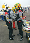Lewis Hamilton and Nico Rosberg Karting