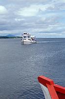 Ometepe ferry on Lake Nicaragua