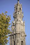 Clerigos Tower designed by Nasoni, Porto - Oporto, Portugal
