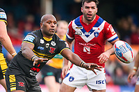 Picture by Alex Whitehead/SWpix.com - 12/03/2017 - Rugby League - Betfred Super League - Wakefield Trinity v Salford Red Devils - Beaumont Legal Stadium, Wakefield, England - Salford's Rob Lui