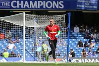 Sunderland goalkeeper, Jordan Pickford during Chelsea vs Sunderland AFC, Premier League Football at Stamford Bridge on 21st May 2017
