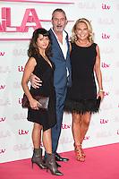 LONDON, UK. November 24, 2016: Amrita Acharia, Neil Morrisey &amp; Amanda Redman at the 2016 ITV Gala at the London Palladium Theatre, London.<br /> Picture: Steve Vas/Featureflash/SilverHub 0208 004 5359/ 07711 972644 Editors@silverhubmedia.com