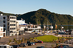 New Zealand, South Island: Harbor of town of Picton on Marlborough Sounds. Photo copyright Lee Foster. Photo # newzealand125186