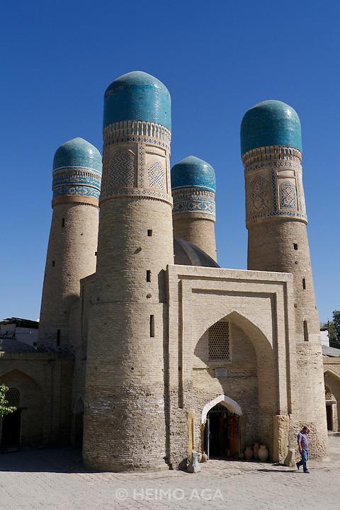 Uzbekistan, Bukhara. Chor-Minor Mosque.