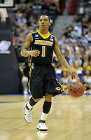 Phil Pressey runs the offense for the Tigers. Cincinnati defeated Missouri 78-63 during the NCAA tournament at the Verizon Center in Washington, D.C. on Thursday, March 17, 2011. Alan P. Santos/DC Sports Box