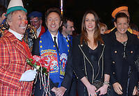 Stéphanie of Monaco & daughters & Stéphane Bern attend the 3rd day of the 37th Circus Festival