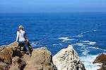 Hikers at Point Lobos