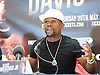 Floyd Mayweather Jr &amp; Frank Warren press conference at The Savoy Hotel, London, Great Britain <br /> 7th March 2017 <br /> <br /> Floyd Joy Mayweather Jr. is an American former professional boxer who competed from 1996 to 2015 and currently works as a boxing promoter. <br /> 