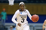 20 March 2015: Mississippi State's Breanna Richardson. The Mississippi State University Bulldogs played the Tulane University Green Wave at Cameron Indoor Stadium in Durham, North Carolina in a 2014-15 NCAA Division I Women's Basketball Tournament first round game.