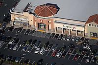aerial photograph Safeway Marin County, California