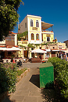 Shops in the Jewish quater of Rhodes, Greece, UNESCO World Heritage Site